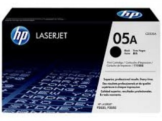 HP 05A Genuine Black LaserJet Printer Toner Cartridge