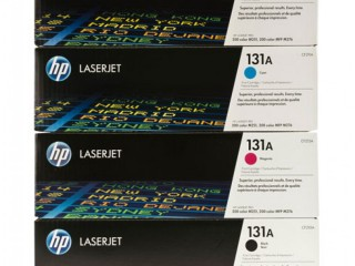 HP Genuine 131A Series Toner Set One Black and Three Colors