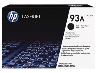 LaserJet Toner Cartridge HP 93A For HP Black Original