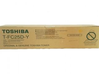 Toshiba T-FC25D-Y Yellow Color Toner Cartridge