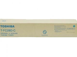 Toshiba T-FC28D-C Cyan Color Toner Cartridge