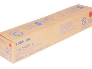 Toshiba T-FC50P-M Magenta Color Toner Cartridges