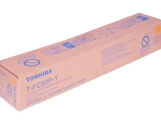 Toshiba T-FC50P-Y Yellow Color Toner Cartridges